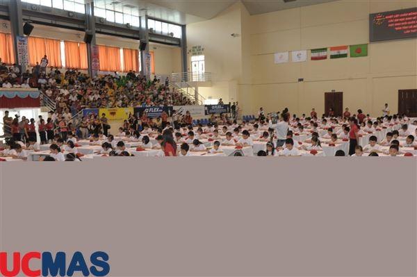 Cuộc thi học sinh giỏi quốc gia UCMAS chặng đường 8 năm