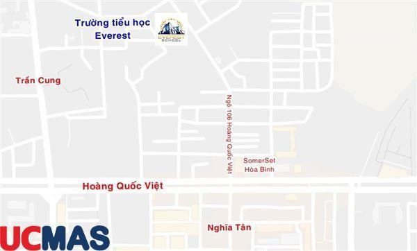 Cơ sở vật chất trường Everest