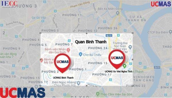 Hệ thống trung tâm UCMAS Quận Bình Thạnh - Hồ Chí Minh