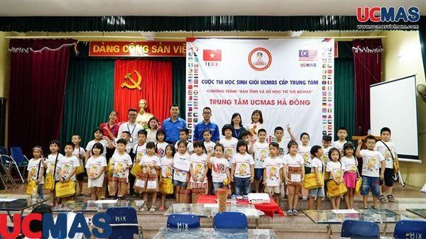 Cuộc thi học sinh giỏi trung tâm Hà Đông ngày 26/06/2019