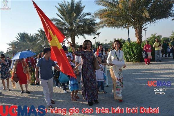 Hành trình đi thi quốc tế lần thứ 21 của học sinh UCMAS Việt Nam tại DUBAI – UAE 2016