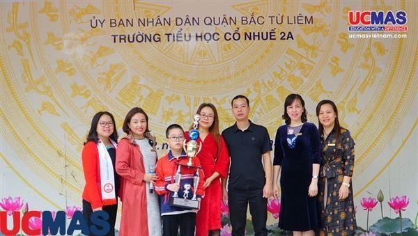 Vinh danh HSGQT 2019 - Trường Tiểu Học Cổ Nhuế 2A - 16.12.2019