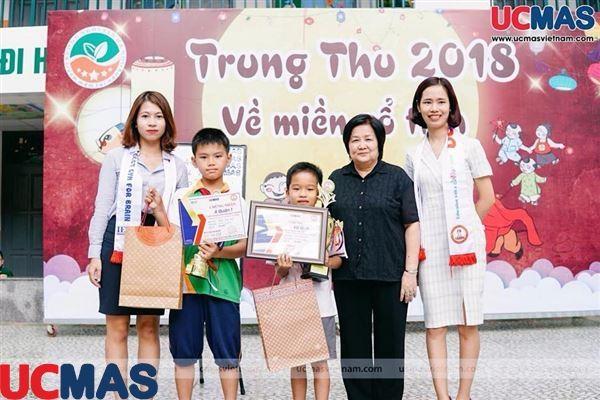 Vinh danh Học sinh giỏi Quốc gia UCMAS 2018 - Trường TH Liên cấp Ngôi Sao Hà Nội