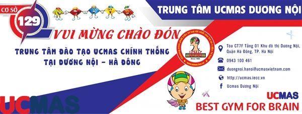 Tin vui tháng 1! Chào mừng trung tâm thứ 129 gia nhập hệ thống: UCMAS Dương Nội - Hà Đông