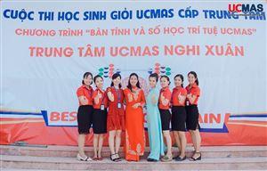 [26/5/2019] Cuộc thi HSG UCMAS Trung Tâm Nghi Xuân - Hà Tĩnh