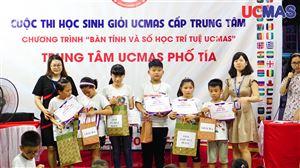 [05.07.2019] - Cuộc thi HSG Trung Tâm UCMAS Phố Tía
