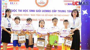 [07.07.2019] - Cuộc thi HSG TT UCMAS Văn Chương - Đội Cấn