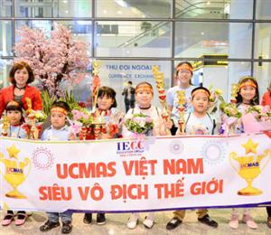 Học viên UCMAS đạt nhiều thành tựu trên đấu trường quốc tế